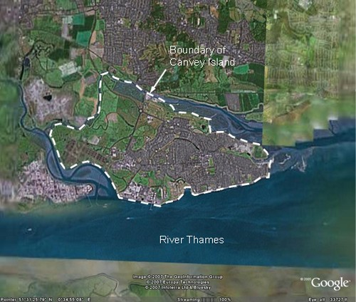 Canvey Island Risk Of Flood
