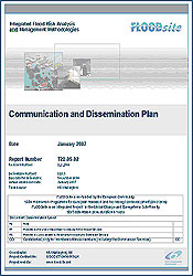 FLOODsite Communication & Dissemination Plan